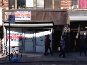 By Xue Yu (Alice): Vacant Store on Broadway, Astoria