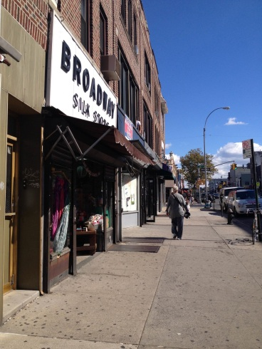 By Xue Yu (Alice): Stores on Broadway, Astoria
